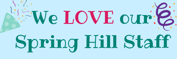We LOVE our Spring Hill Staff-blue